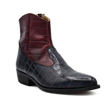 Boot // Black + Burgundy (Euro: 38)