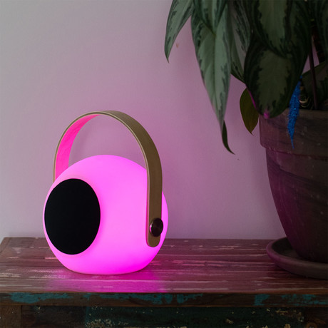 Tech // Bluetooth Speaker + Color-Changing Lantern