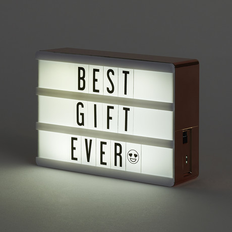 My Cinema Lightbox // Micro