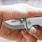 Dart Mini Pocket Knife (Jet Black)