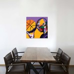 """One With The Game // Vakseen (26""""W x 26""""H x 1.5""""D)"""