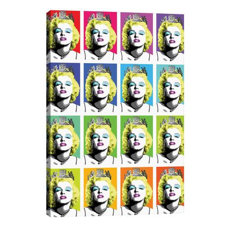 """Queen Monroe X 16 // Gary Hogben (26""""W x 40""""H x 1.5""""D)"""