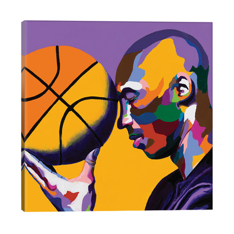 """One With The Game // Vakseen (18""""W x 18""""H x 1.5""""D)"""