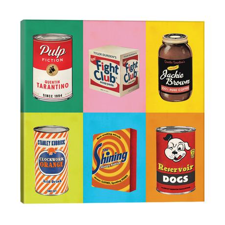 "Popshots // David Redon (18""W x 18""H x 1.5""D)"