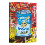 "Wrath Soup Preserves // Diego Tirigall (26""W x 40""H x 1.5""D)"