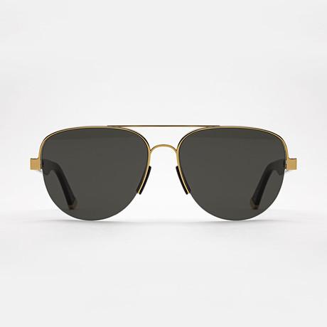 Men's Air Sunglasses (Black + Gold)