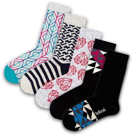 Men's Socks // Hubs Socks // 5 Pack (US: 6-9)