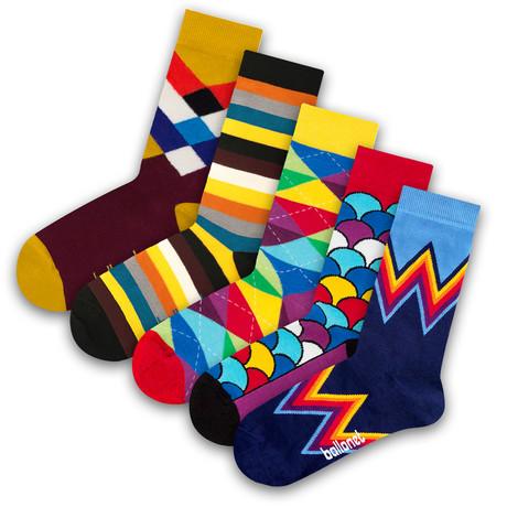 Unisex Socks // Fan Socks // 5 Pack (US: 6-9)