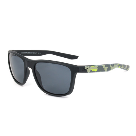 Men's Essential Endeavor Sunglasses // Matte Black + Dark Gray