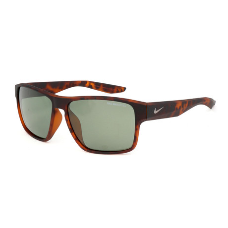 Nike // Unisex Essential Venture Sunglasses // Tortoise + Green