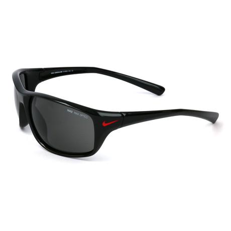Men's Adrenaline Sunglasses // Black + Gray