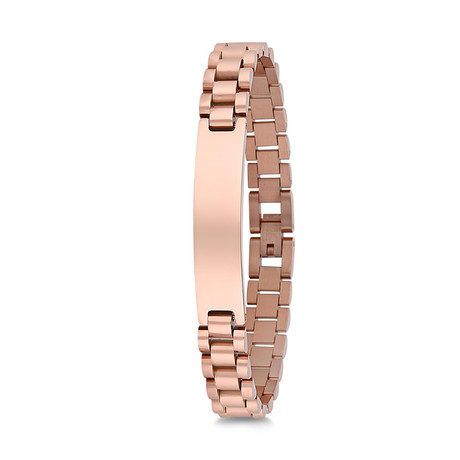 Jubilee Chain Bracelet // Rose
