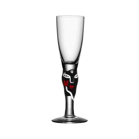 Open Minds Shot Glass (Black)