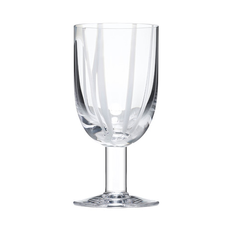 Contrast Wine Glass (Multicolor)