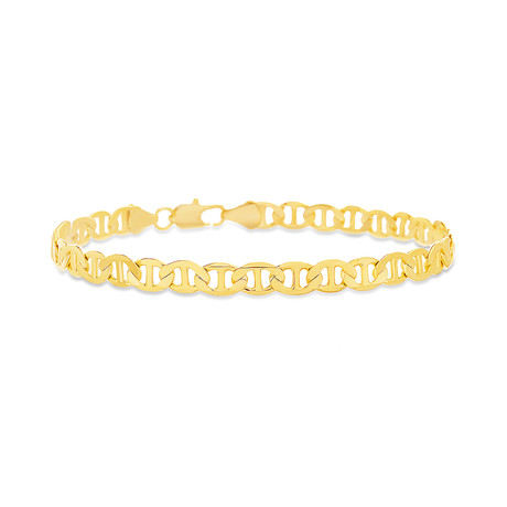 Mariner Chain Bracelet // Gold Plated