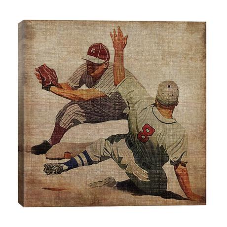 "Vintage Sports VII // John Butler (26""W x 26""H x 1.5""D)"