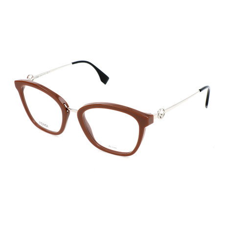 Women's F 0307 09Q Optical Frames // Brown