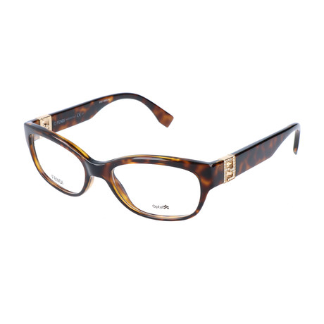Women's 0048 EDJ Optical Frames // Havana