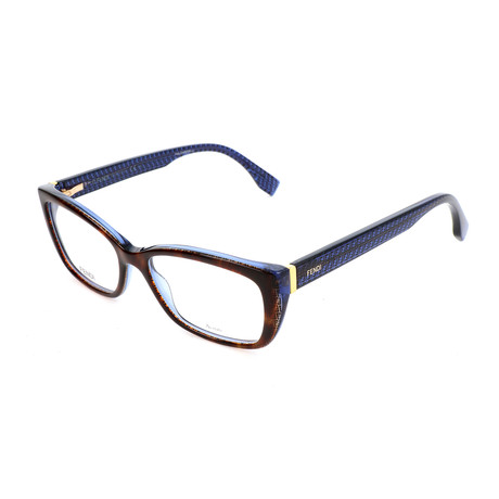 Women's 0003 Optical Frames // Light Havana + Blue