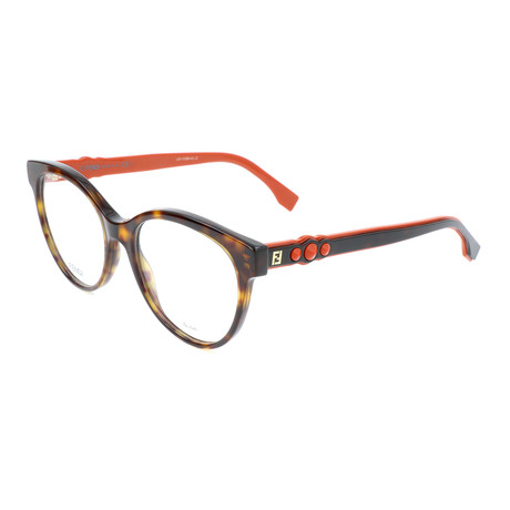 Women's 0275 086 Optical Frames // Dark Havana
