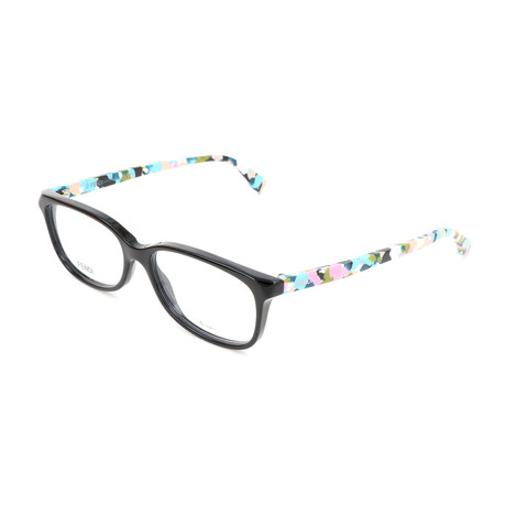 Women's 0173 TTY Optical Frames // Black + Multicolor