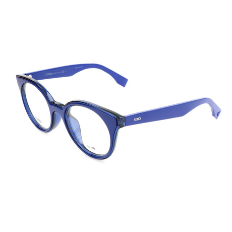 Women's 0198 Optical Frames // Blue
