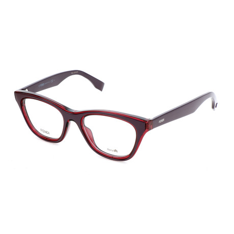 Women's 0197 KTA Optical Frames // Burgundy
