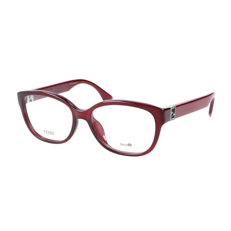 Women's 0068 Optical Frames // Burgundy + Opal