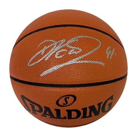 Dirk Nowitzki // Autographed Basketball