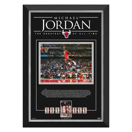 Michael Jordan // Limited Edition Championship Tribute // #123 of 123 // Facsimile Signature