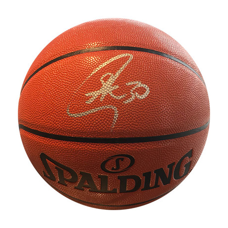 Stephen Curry // Autographed Basketball