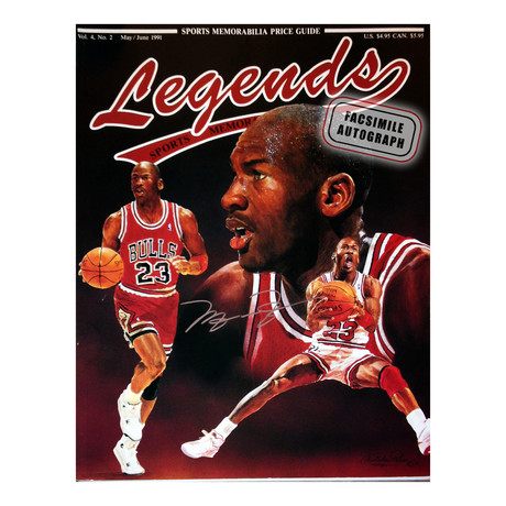 Michael Jordan // Legends // Facsimile Signature