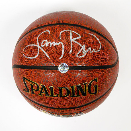 Larry Bird // Autographed Basketball