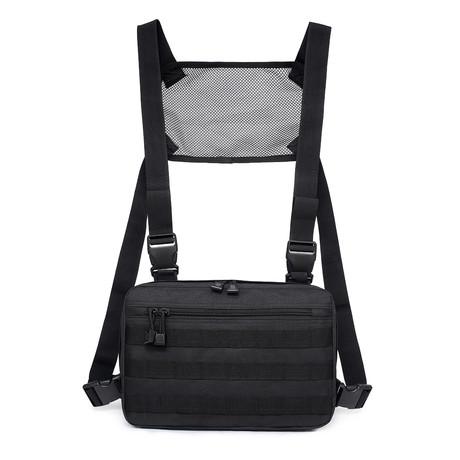 Tactical Chest Bag // Black