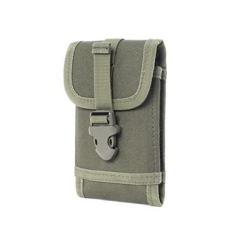 Waist Messenger Bag // Green