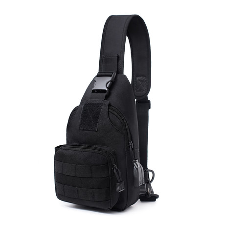 Tactical Diagonal Bag // Black