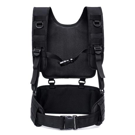 Shoulder Belt Combination Carrier System // Black