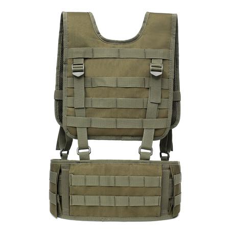 Shoulder Belt Combination Carrier System // Green