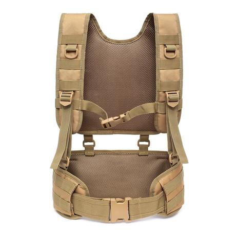 Shoulder Belt Combination Carrier System // Sand