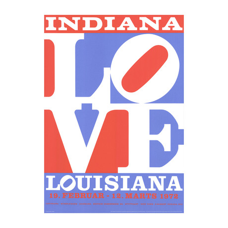 Love // Robert Indiana // 2018 Giclee