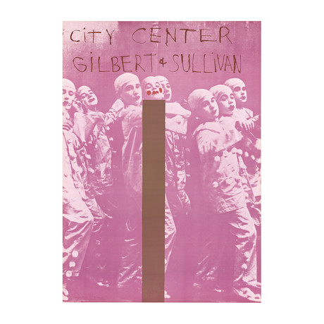 Gilbert And Sullivan // Jim Dine // 1968 Offset Lithograph