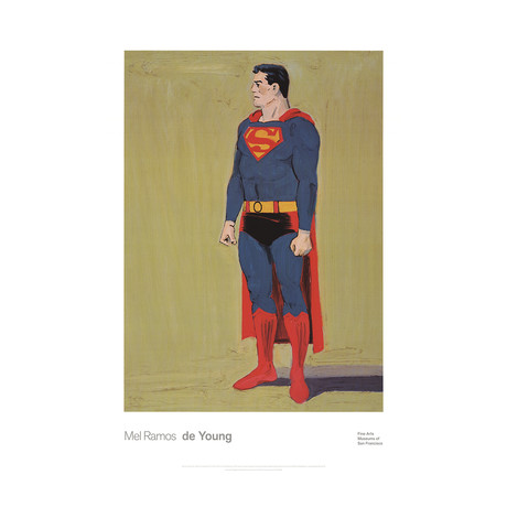 Superman // Mel Ramos // 2014 Offset Lithograph
