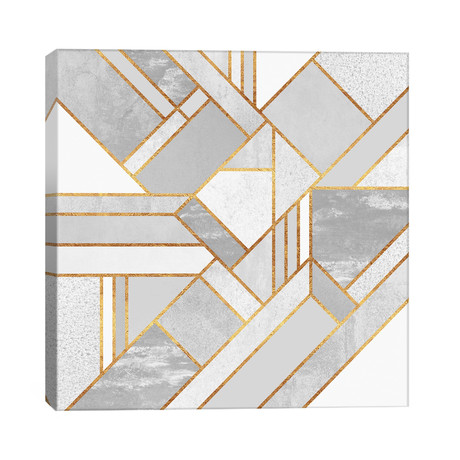"""Gold City // Elisabeth Fredriksson (26""""W x 26""""H x 1.5""""D)"""