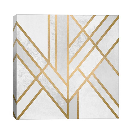 "Art Deco Geometry II // Elisabeth Fredriksson (26""W x 26""H x 1.5""D)"