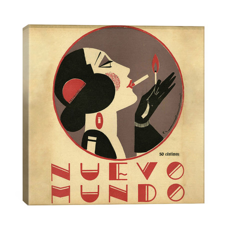 1923 Nuevo Mundo Magazine Cover // The Advertising Archives