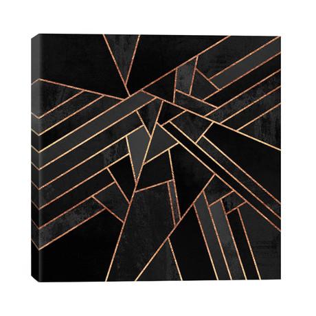 """Black Night // Elisabeth Fredriksson (26""""W x 26""""H x 1.5""""D)"""
