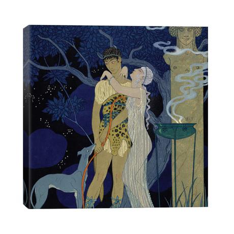 Venus and Adonis // George Barbier