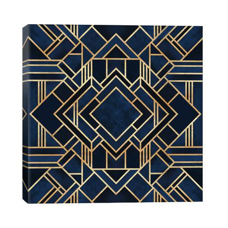 """Art Deco III // Elisabeth Fredriksson (26""""W x 26""""H x 1.5""""D)"""
