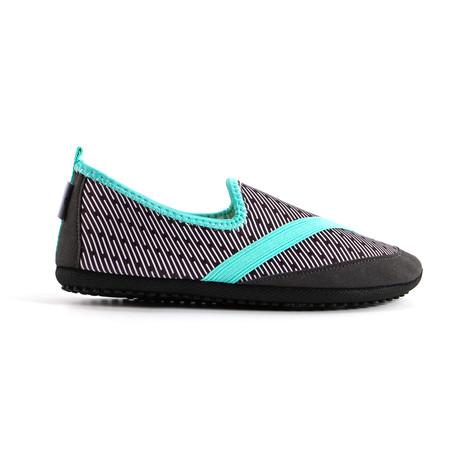 KOZIKICKS // Women's Edition Shoes // Black + Turquoise (S)