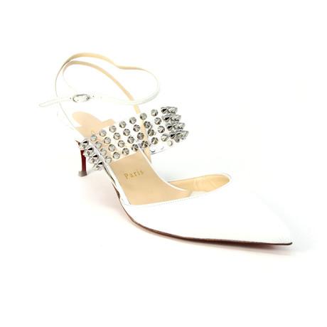 Christian Louboutin // Women's Levita Sandal // White (Euro: 35)